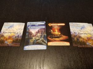 Karmaka Board Game cards