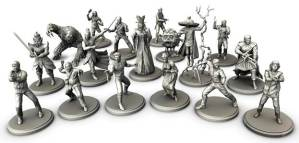 Big Trouble in Little China: The Game Minatures