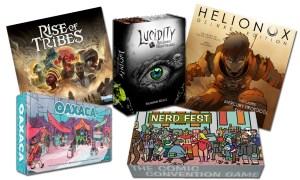 Fave 5 Kickstarter Games