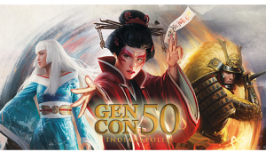 Legend of the Five Rings at gen con 50