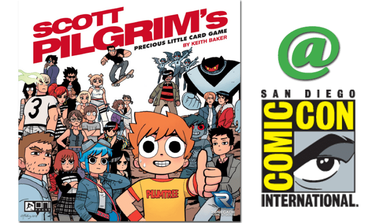 Scott Pilgrim's Precious Little Card Game SDCC