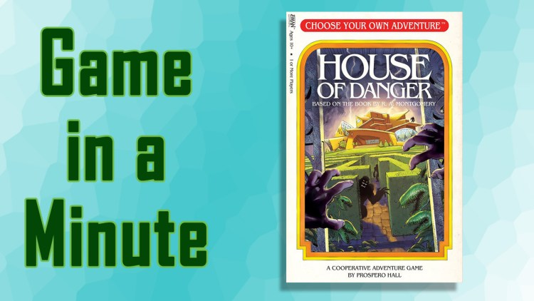 Game in a minute choose your own adventure house of for Choose your own home