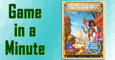 Game in a Minute: Ankh'or