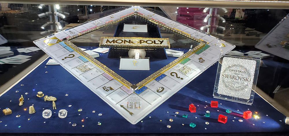Crystal Monopoly board