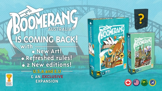 Boomerang is Back Kickstarter banner