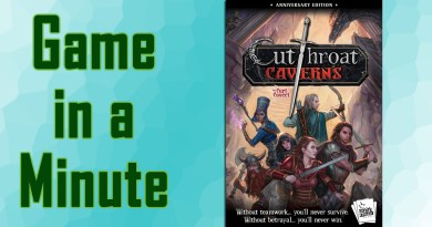 Game in a Minute: Cutthroat Caverns: Anniversary Edition