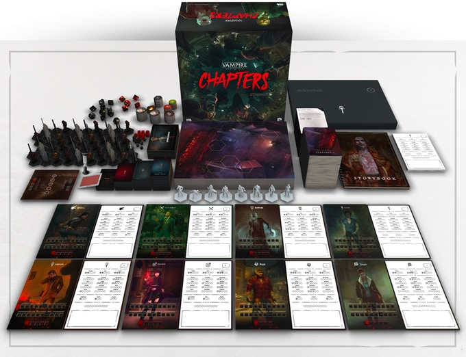 Vampire: The Masquerade – CHAPTERS components