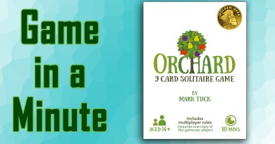 Game in a Minute: Orchard: A 9 Card Solitaire Game