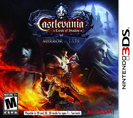 Caratula Castlevania Lords of Shadow: Mirror of Fate