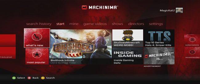 machinima xbox live