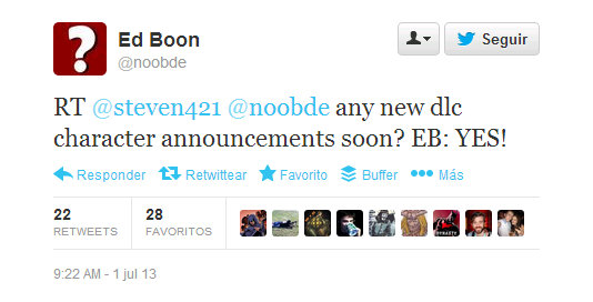 Twitter Ed Boon