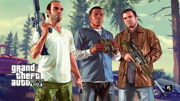 GTA V Xbox wall