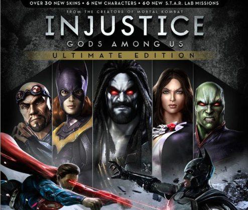 Injustice Gods Amog Us Ultimate Edition