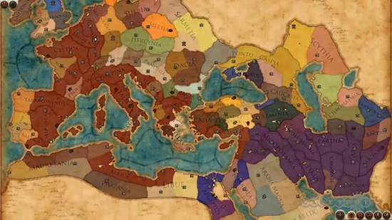 rome 2 campaign map