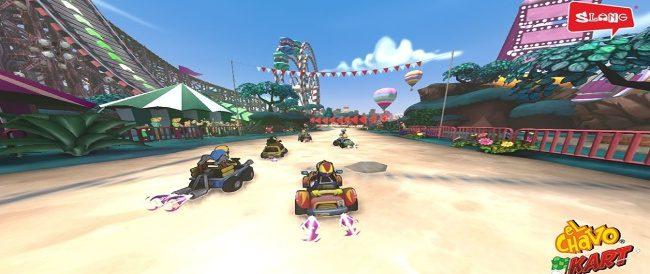El estilo gráfico del juego es de buen nivel, pero queda completamente opacado por un muy mal diseño de pistas