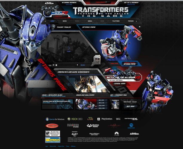 Transformers The Game 3