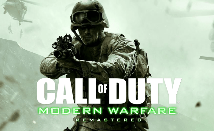 Call of Duty Modern Warfare Remastered listo para el PS4