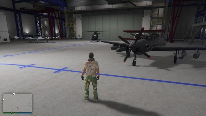 GTA Online Hangar