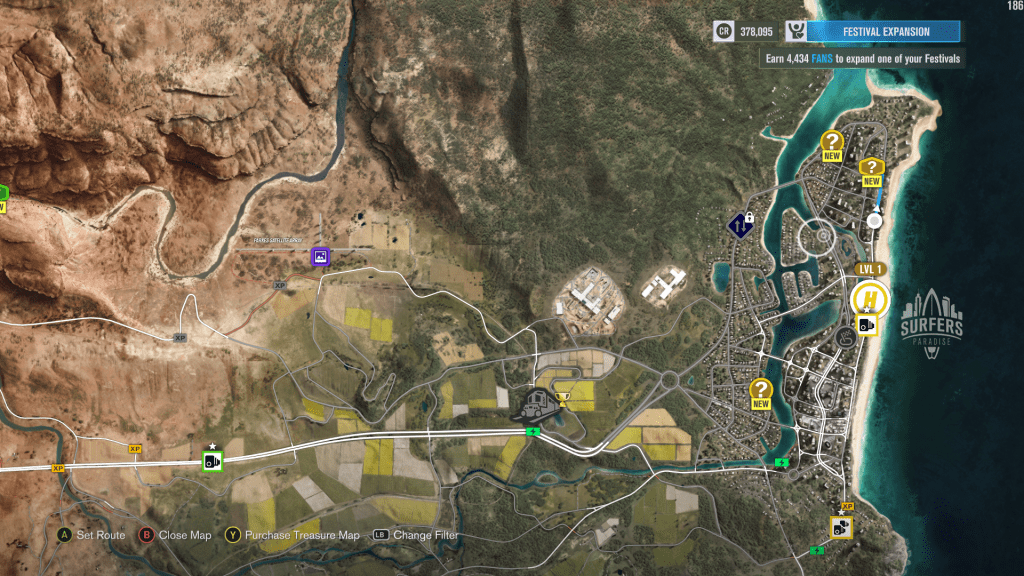 FH3 Map