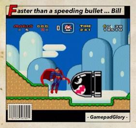 Faster than a speeding