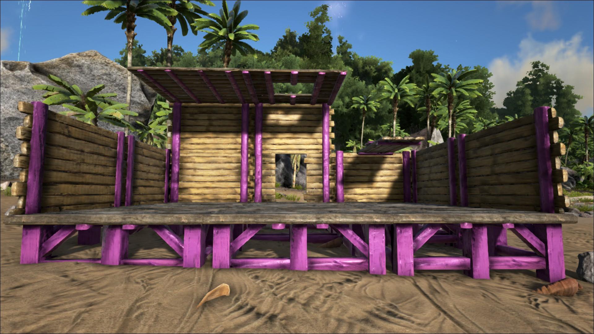 Wooden Catwalk Official Ark Survival Evolved Wiki