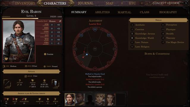 Character Creation Pathfinder Kingmaker Wiki