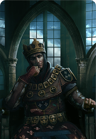 Foltest King Of Temeria Gwent Card The Official Witcher Wiki