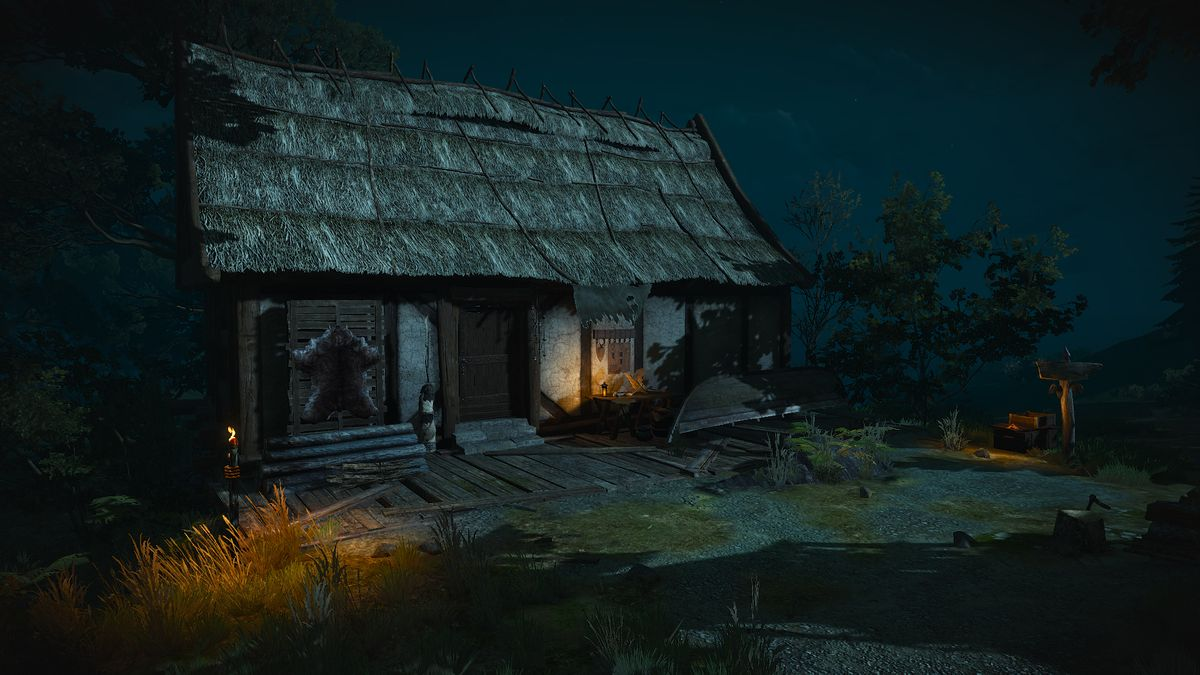 Isolated Shack The Official Witcher Wiki
