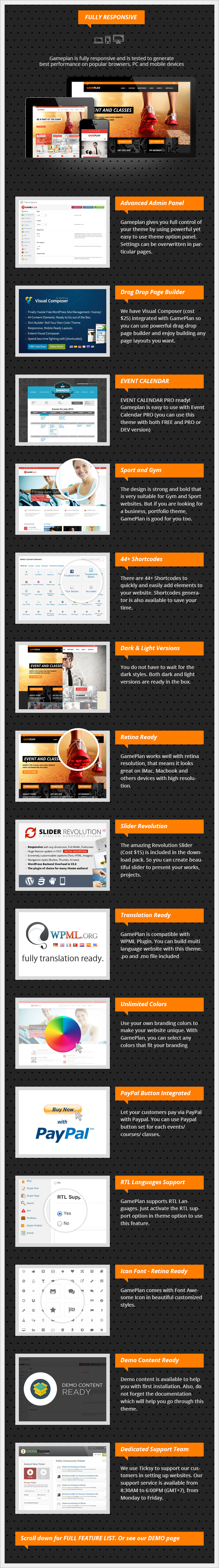 Gameplan - Event and Gym Fitness WordPress Theme - 9
