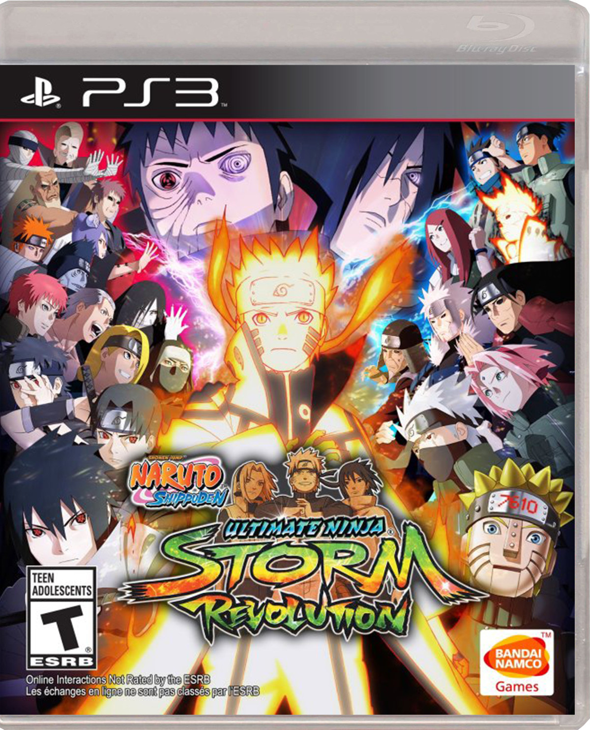 NARUTO SHIPPUDEN ULTIMATE NINJA STORM REVOLUTION Para PS3