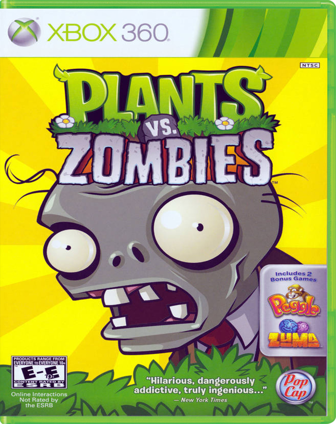 PLANTS VS ZOMBIES Para 360 GamePlanet