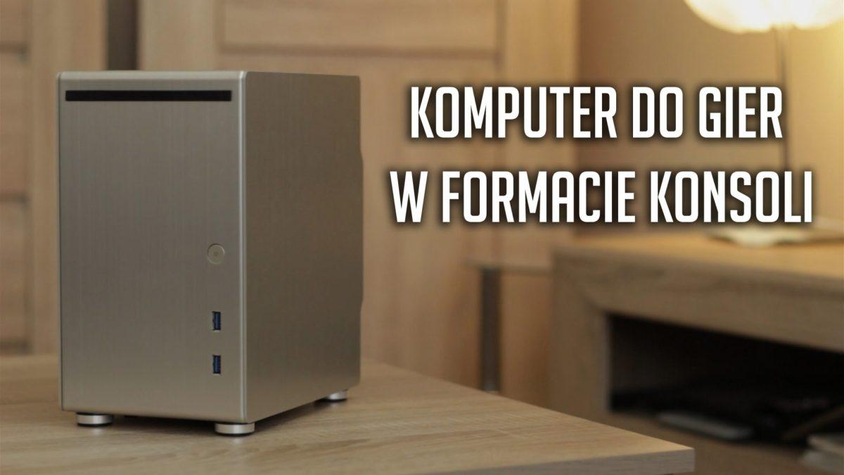 Komputer do gier w formacie konsoli