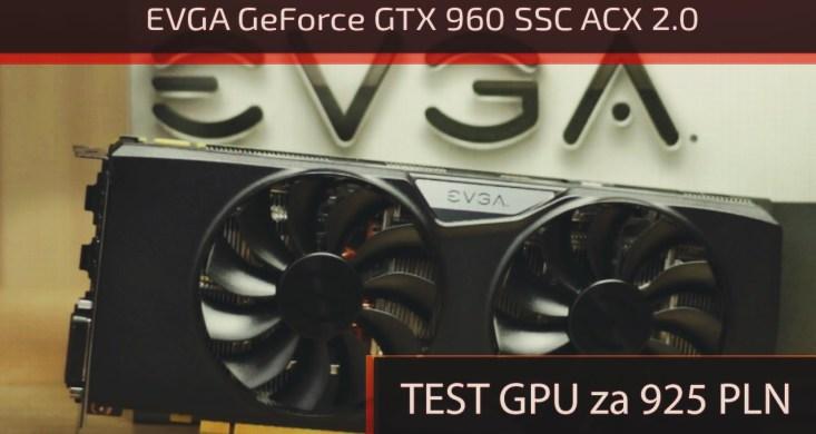 evga geforce gtx 960 test