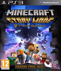minecraft story mode okładka