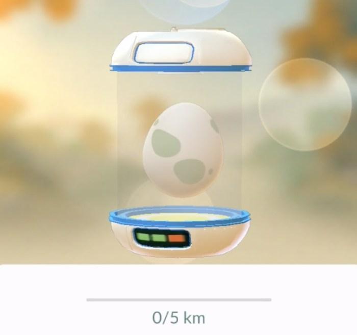 pokemon go niebieski inkubator