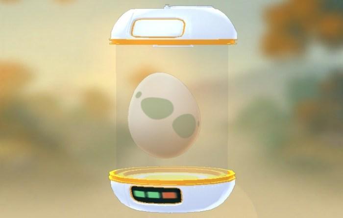 pokemon go pomarańczowy inkubator