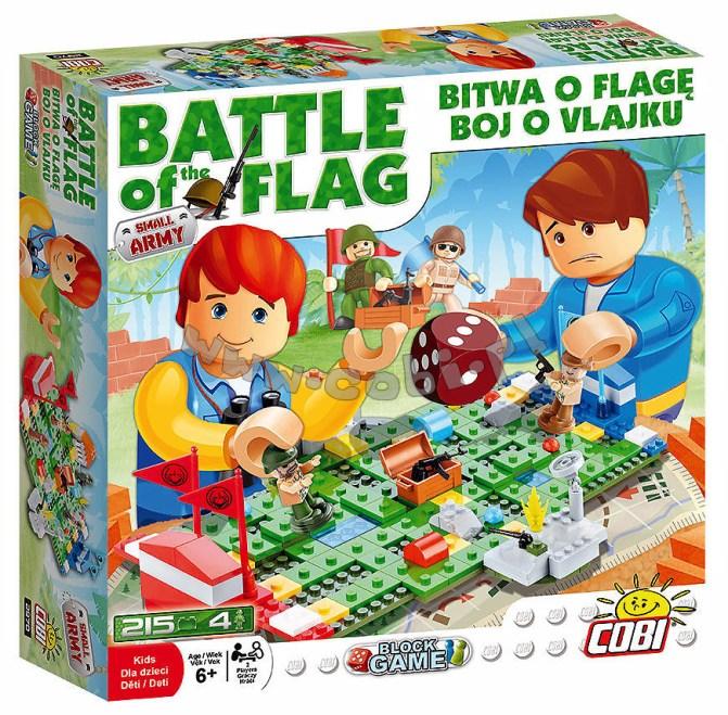 Bitwa o flagę – gra klockowa