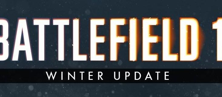 zimowa aktualizacja battlefield 1