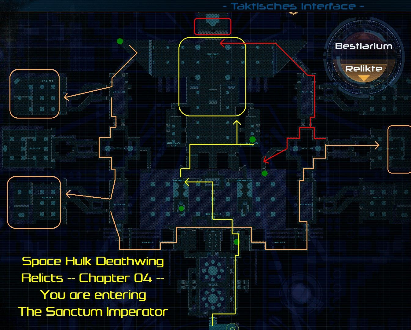 Space Hulk Deathwing All Relic Locations Guide