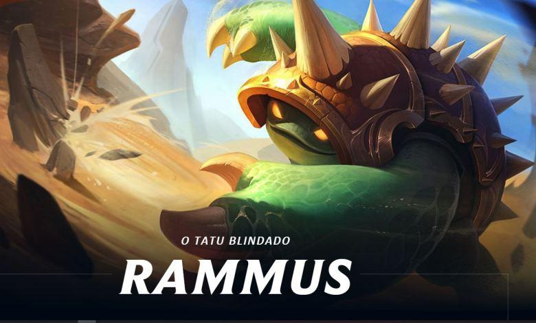 Atualização do campeão Rammus