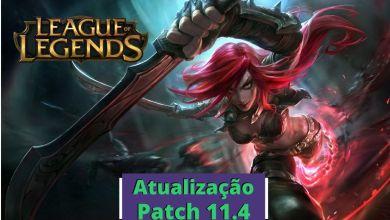 notas de atualização patch 11.4 league of legends