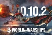 Atualização 0.10.2 em World of Warships