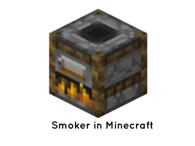 Minecraft Smoker Recipe & Use - Full Guide - GamePlayerr