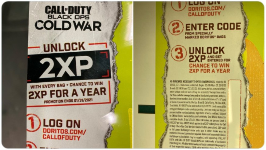 Call of Duty Cold War leaked: Logo revealed by Doritos ...