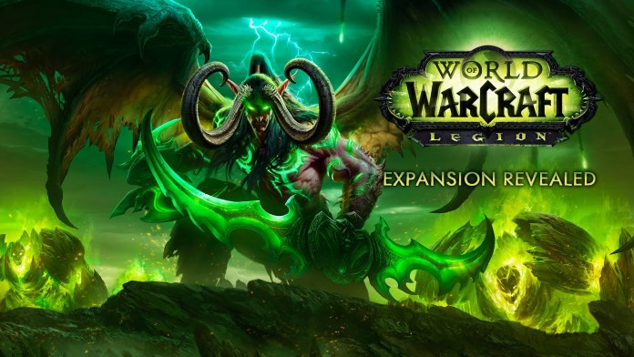 World of Warcraft: Legion release dateGame playing info