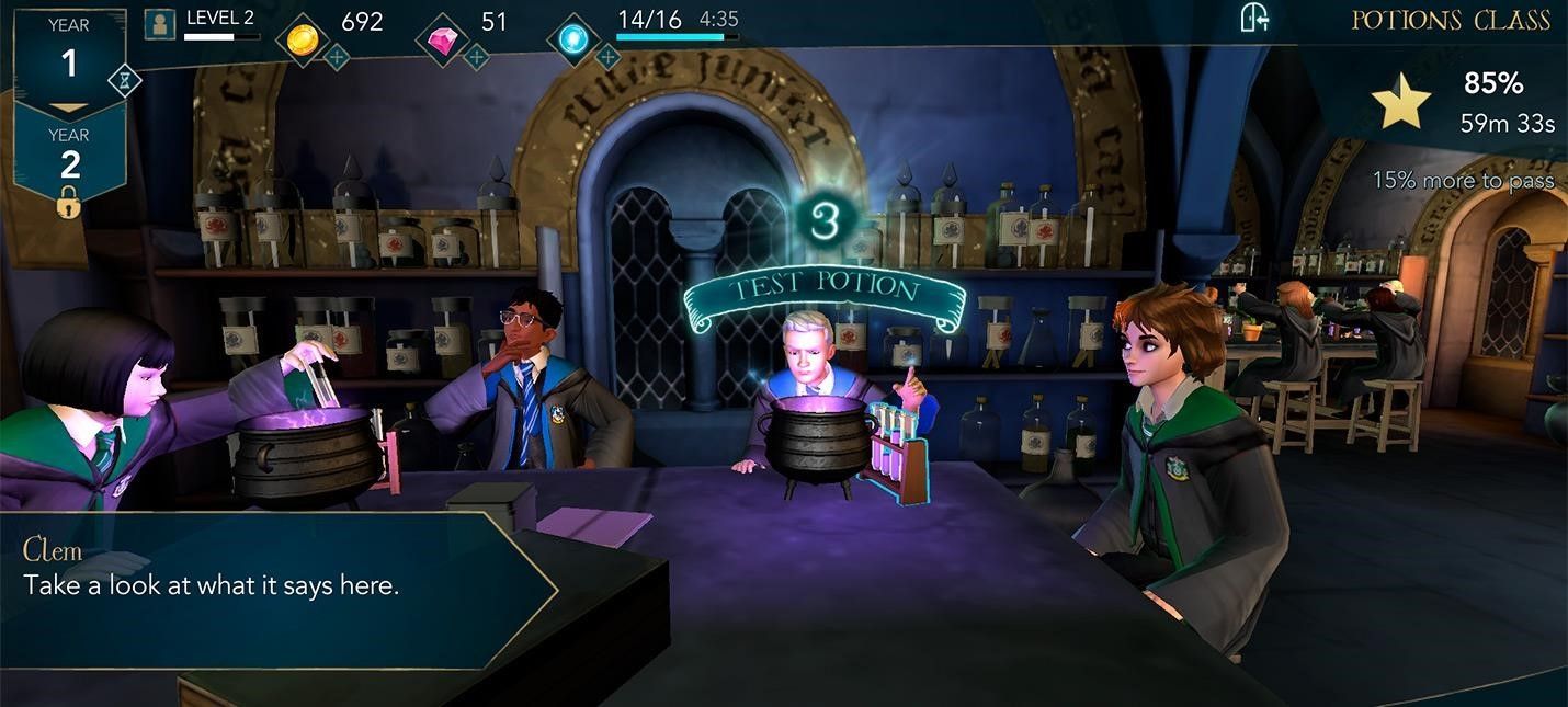 In a new teaser for Harry Potter  Hogwarts Mystery showed     The network has a new teaser trailer for the mobile game Harry Potter   Hogwarts Mystery in which you become a disciple of the school of magic of  Rowling s