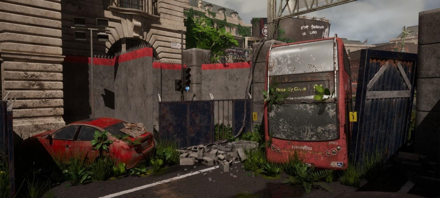 Fans made The Last Of London in UE4Game playing info