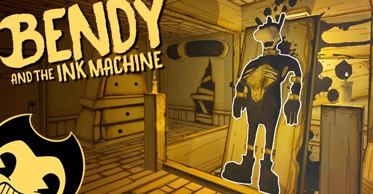 Bendy Ink Bendy And Boris Old Machine