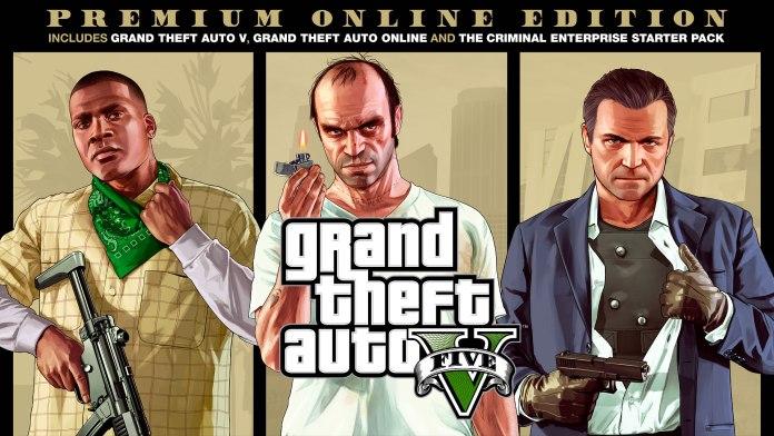 GTA V Epic Games Store
