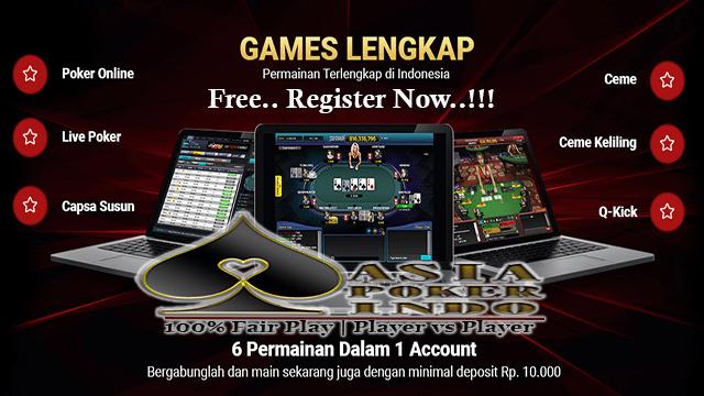 Game Poker Online Android Terbaik Dan Terbesar Di Asia